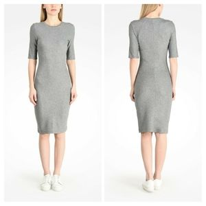 4/$25Armani Exchange heathered shirt dress Fitted